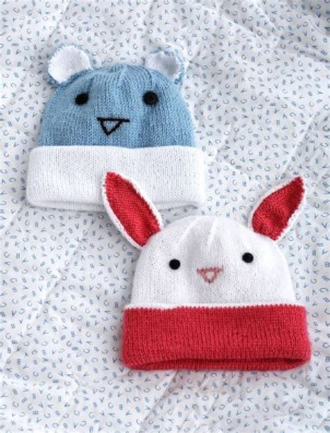 knitting patterns for baby hats with ears 21 free crochet and knitting patterns for your baby s