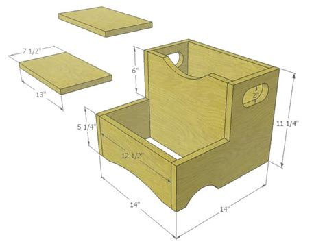 step stool woodworking plans how to build step stool plans plans free