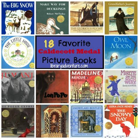 caldecott picture book winners 18 favorite caldecott medal winning books