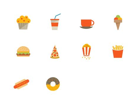 tonicons animated food icons by hakan ertan dribbble