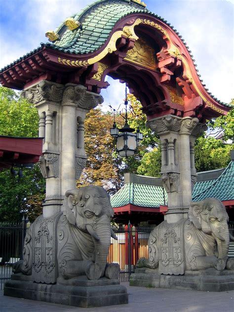 Der Zoologische Garten by Elefantentor Zoologischer Garten Berlin