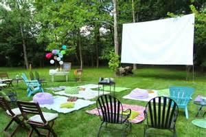 Der Garten Open Air Kino by Open Air Kino Im Eigenen Garten 20 Ideen F 252 R Eine Gute