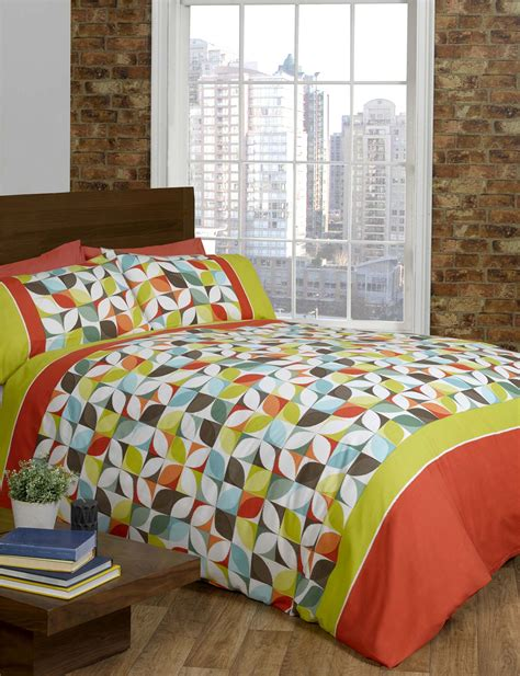 lime green bed set lime green orange purple quilt duvet cover p bed