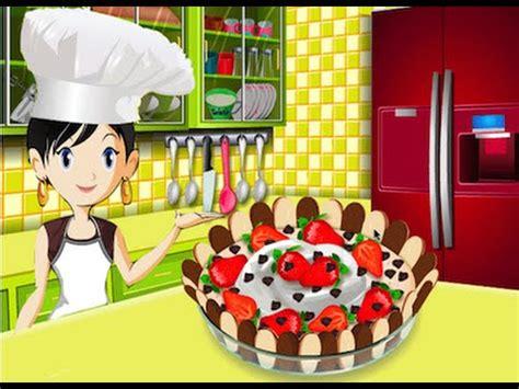 guegos de cocina con sara mouse choco cake juegos de cocinar con sara youtube