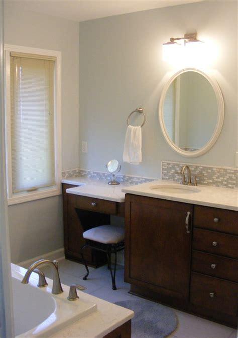 makeup vanity in bathroom vanity area with make up table jpg