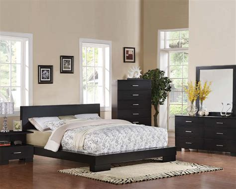 modern bedroom furniture sets contemporary bedroom set black by acme furniture
