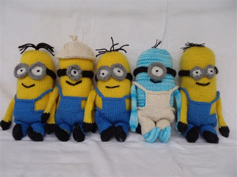 how to knit minions stana s critters etc knitting pattern for minions part 2