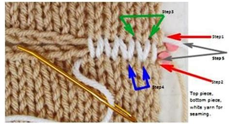 what is the stockinette stitch in knitting horizontal stockinette stitch invisible seam photo how