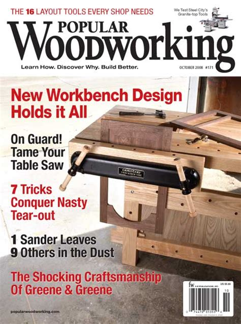 popular woodworking books october 2008 171 popular woodworking magazine
