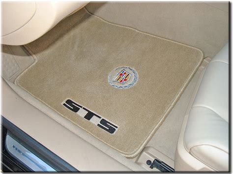 custom rubber sts houston car motorsports cadillac floor mats and logos
