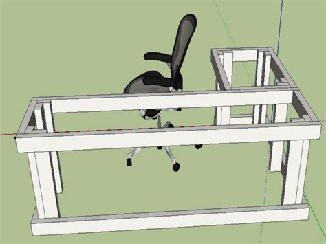 diy l desk l shaped desk plans diy search projects
