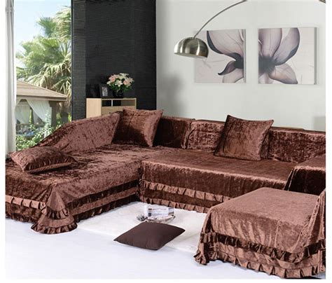 sofa covers for sectional sectional slipcovers homesfeed