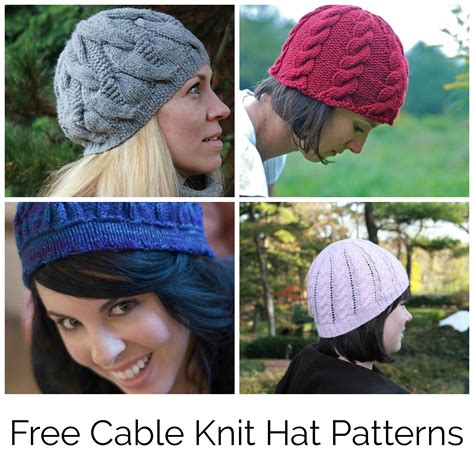 knitted patterns for free find your favorite free cable knit hat pattern