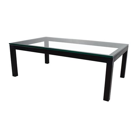 parsons coffee table crate and barrel 65 crate and barrel crate barrel parsons coffee