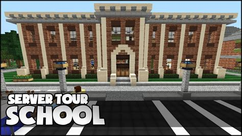 for to make at school minecraft school