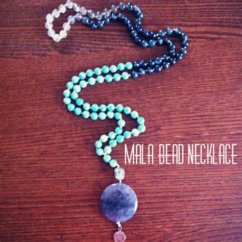 Diy Mala Bead Necklace 5 Steps