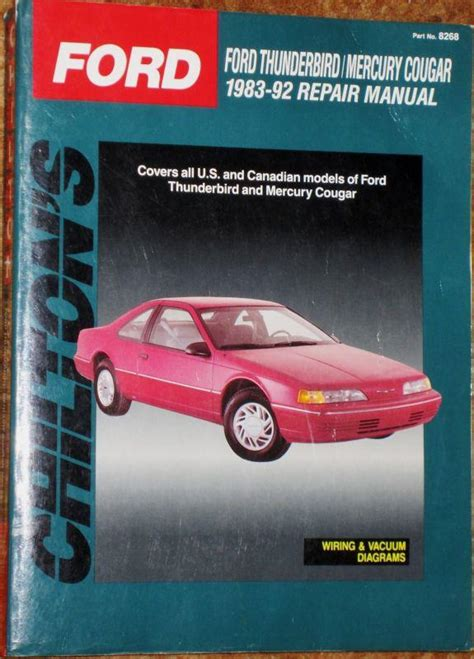 chilton car manuals free download 1985 ford thunderbird parental controls service manual 1992 mercury cougar owners manual mercury cougar service repair manual online