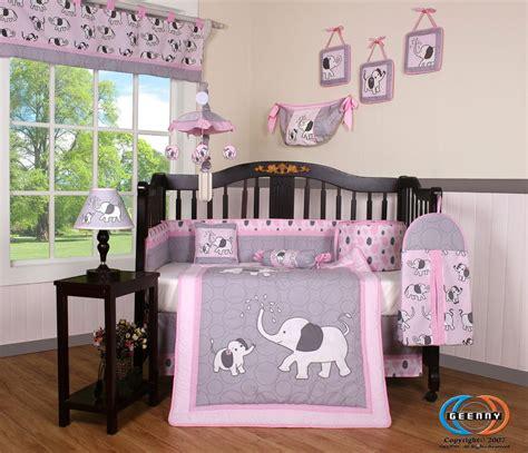 gray baby bedding sets crib bedding set elephant