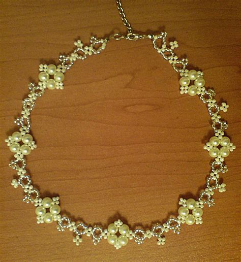 beaded jewelry tutorials free pattern for necklace ivona magic bloglovin