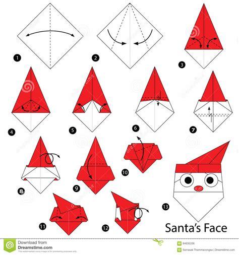 santa hat origami origami paper hat origami santa hat tutorial henry ph 225 186 161 m