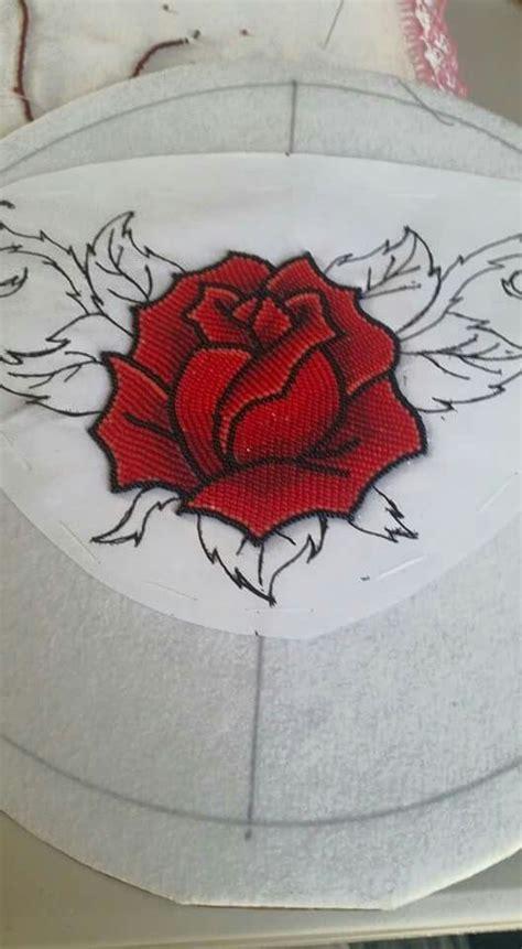 bead of roses beautiful in progress lovely beadwork artists
