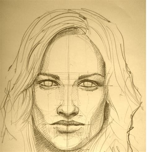 drawing for beginners the technique of portrait pencil drawing for beginners