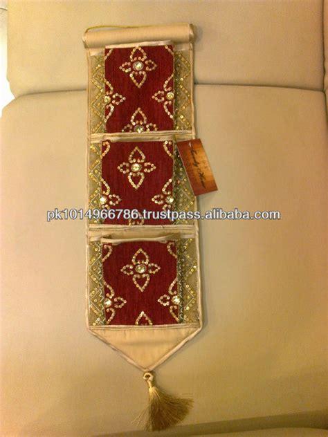 handmade lwork letter holder handmade embroidered sequins beaded fabric