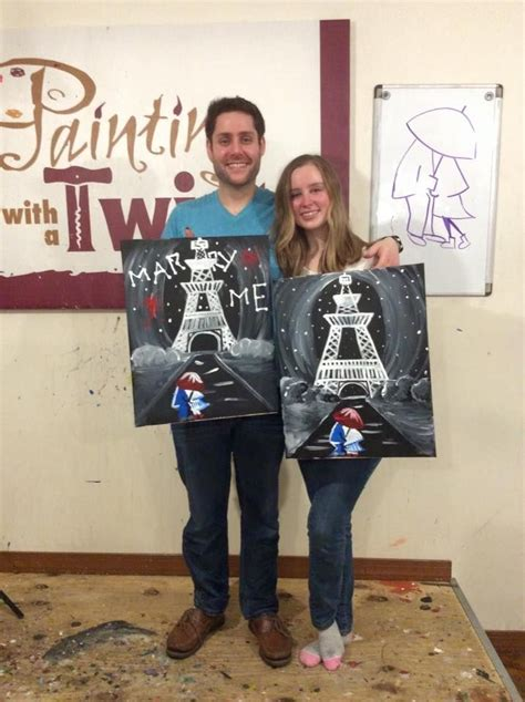 paint with a twist in philadelphia 17 best images about pwat wedding proposals on