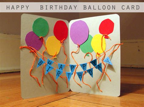 birthday craft ideas for craft a handmade birthday card i m