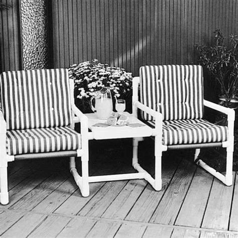 patio furniture pvc pvc outdoor patio furniture plans woodworking projects