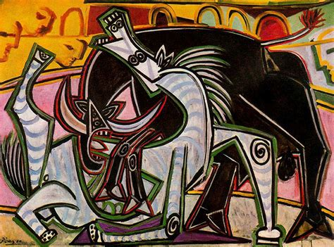 picasso paintings of bullfight pablo picasso wikiart org