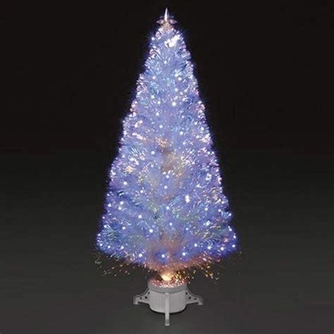 fibre optic tree ireland buy 6ft polar white fibre optic led tree