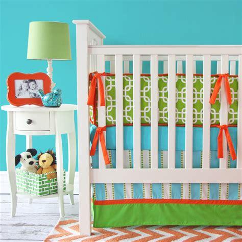 orange crib bedding sets giveaway caden crib bedding set project nursery