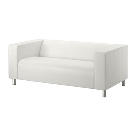ikea white leather sofa klippan two seat sofa kimstad white ikea
