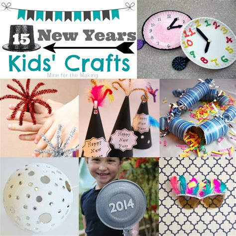 year crafts teach me tuesday 15 new years crafts mine for the
