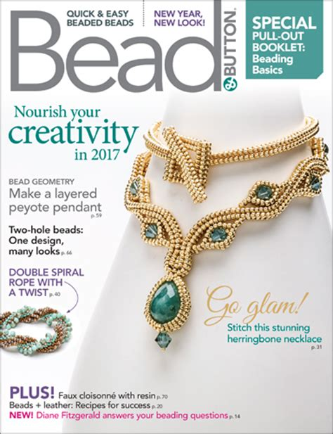 bead and jewellery magazine about bead button magazine facet jewelry