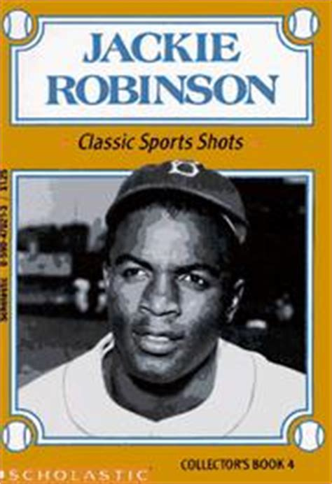 jackie robinson picture book jackie robinson classic sports collector s book