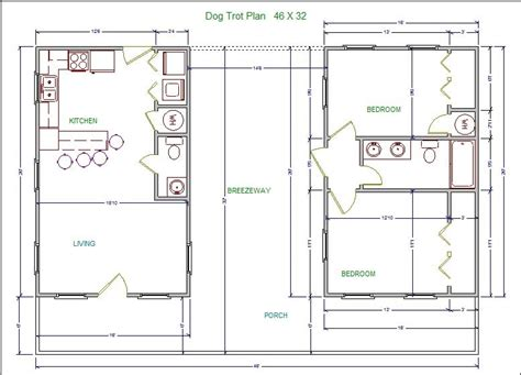 Home Floor Plans Cost To Build dogtrot house plans modern