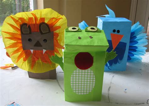 puppet crafts for easy puppet craft living locurto