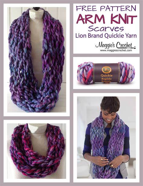 best yarn for arm knitting arm knit scarf with brand yarn crochet free