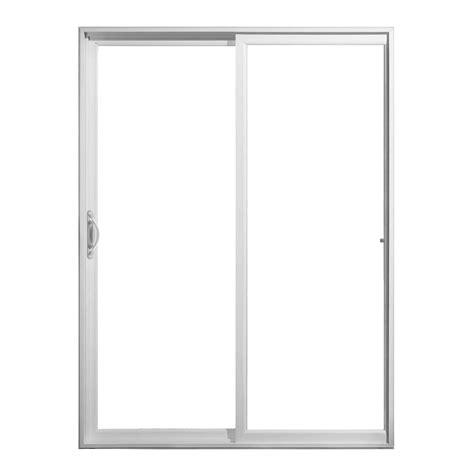home depot sliding glass patio doors jeld wen 60 in x 80 in v 2500 series sliding vinyl patio
