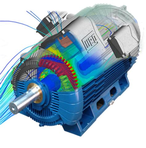 Electric Motor Simulation by Driving Innovation With Electronics