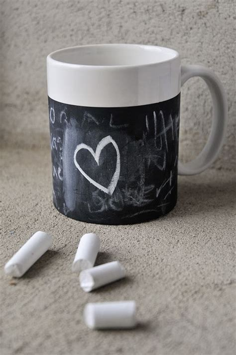 diy chalkboard coffee mug chalkboard coffee mug