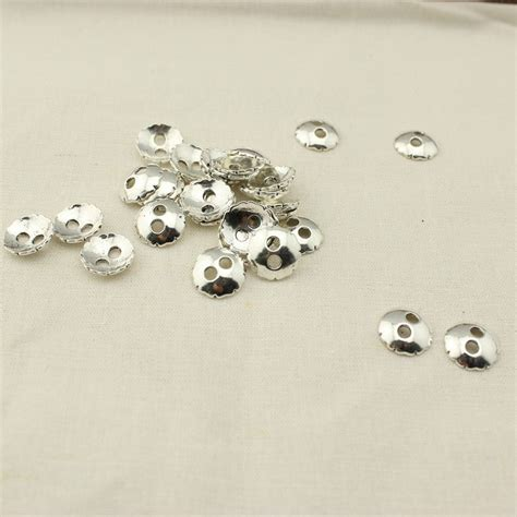 nickel free jewelry supplies 30 pcs 15 mm bowl zine ally button clasp lead free