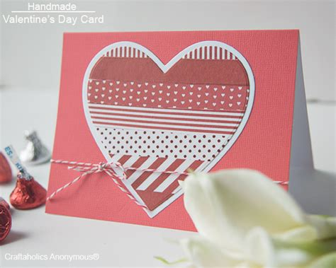 how to make a valentines card craftaholics anonymous 174 handmade ideas using