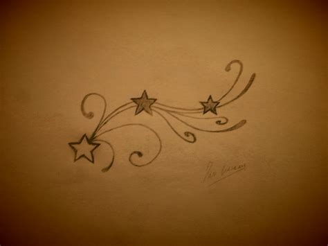 stars n swirls tattoo design by studiumdesign on deviantart