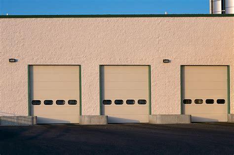 sectional overhead door commercial sectional thermacore doors