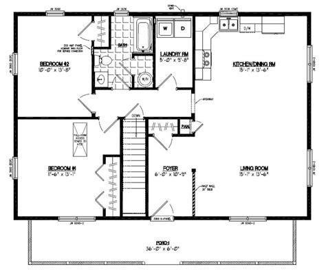 28 x 40 house plans certified floor plan musketeer certified floor plan 28