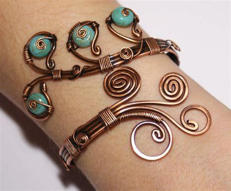 make copper jewelry diy bracelet ideas diy craft projects