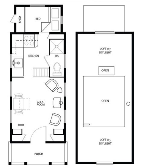 tiny home floor plans 17 best tiny house plans images on tiny house